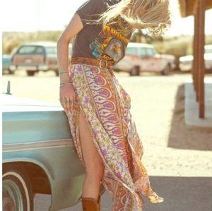 Beautiful Rare Vintage Spell Boho Blossom skirt